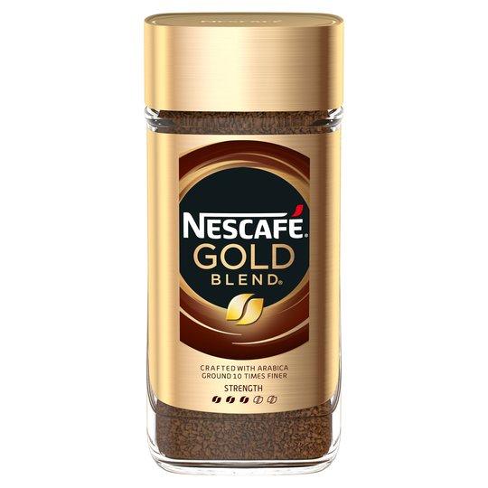 Nescafe Gold 'Blend', 'Intense' & 'Decaff' 200g now £4 @ Tesco