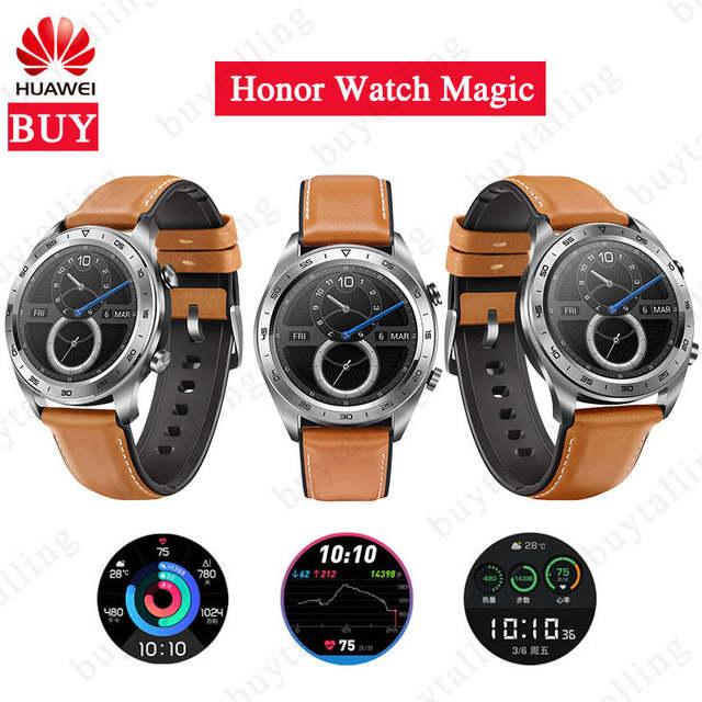 HUAWEI Honor Watch Magic Black dream Smartwatch Support NFC GPS Heart Rate Tracker @ Buytalling Factory Store/Aliexpress - £83.41
