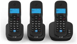 BT 3440 Cordless Triple Telephone with Answer Machine at Argos - £30.99 C&C