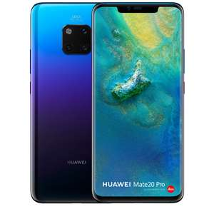 Huawei Mate 20 Pro Brand New and Unlocked £499 (£399 after cashback) @ Smartphone Company