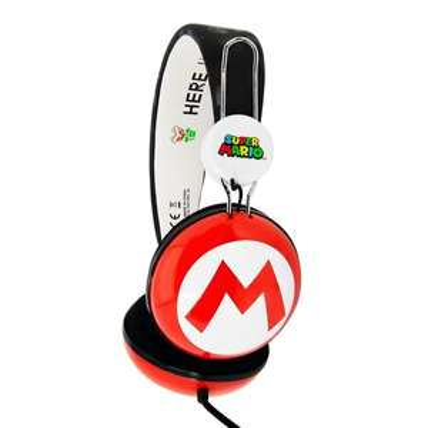 Super Mario Icon Tween  Headphones £14.99 Smyths Toys