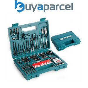 Makita 100 Piece Power Drill Bit Set Screwdriver Set - Holesaw Masonry HSS PZ2 + £19.99 at buyaparcel-store eBay