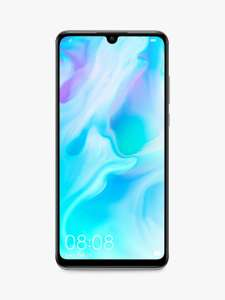 "£50 Cashback + Huawei P30 Lite, Android, 4GB RAM, 6.15"", 4G LTE, SIM Free, 128GB, Pearl £229 After Cashback @ John Lewis & Partners"