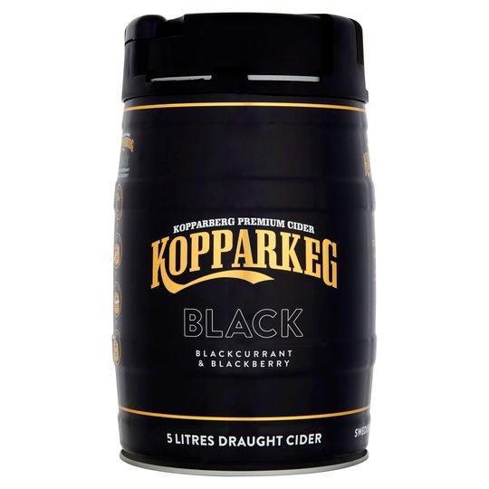 Kopparkeg Black 5l Kopperberg - £10 in-store at Morrisons