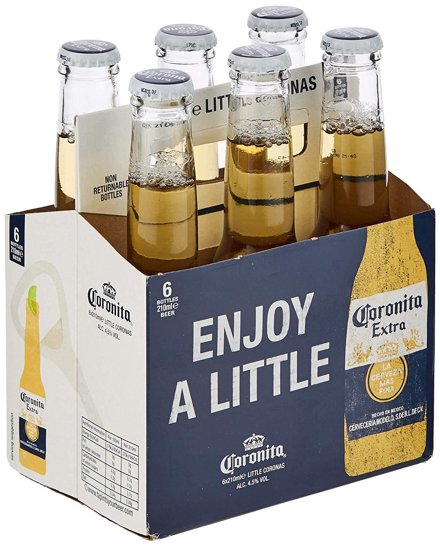 Mini Corona bottles 6 pack £2.99 @ Home Bargains