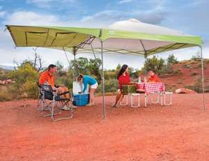 Coleman 10ft x 10ft (304.8 x 304.8 cm) Swingwall Instant Shelter £60 at Costco instore