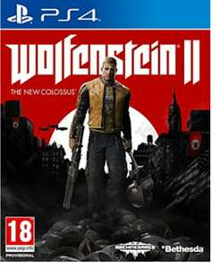 Wolfenstein 2: The New Colossus (PS4) - £10.85 @ Base