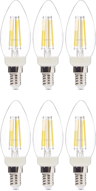 Amazon basics 6 x Dimmable Led candle bulbs £22.72 on Amazon