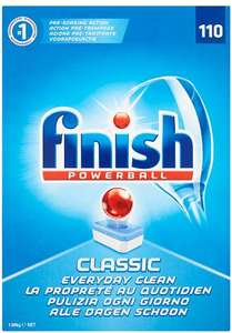 220 Finish All In One one classic dishwasher tablets for £15 in Iceland