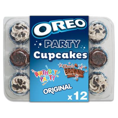 Oreo Party Cupcakes 12pk £1 @ Asda