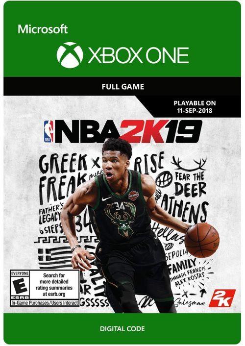 NBA2K19 Xbox One £9.99 from CDKeys