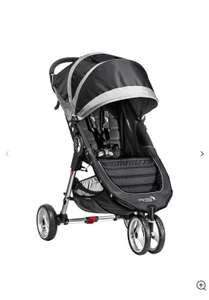 Baby Jogger City Mini 3 Wheel Pushchair, Black/Grey - £188.30 @ John Lewis & Partners