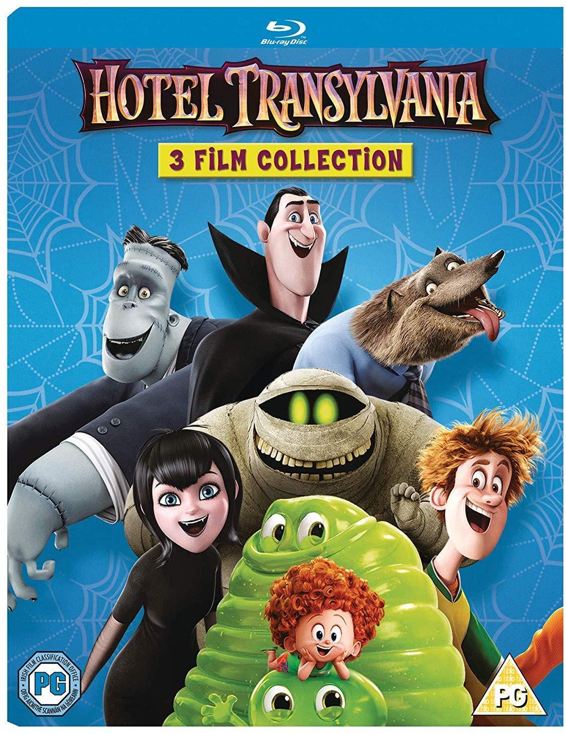 Hotel Transylvania 1-3 blu-ray Boxset £10 at Amazon Prime / £12.99 Non Prime