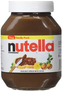 8 x Nutella 1kg £22 via Amazon Pantry deal with free delivery