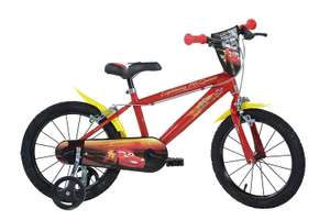 Robbie Toys Dino Bikes DINO163 G-CS 16-Inch CARS Bicycle 3 Years and UP! Low Stock Find @ Amazon