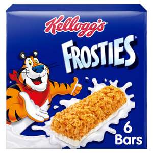 Kellogg's Frosties Cereal Milk Bars, 6-Piece, Pack of 7 - £5.13 (Prime) £9.62 (Non Prime) @ Amazon