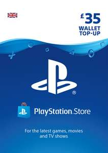 Playstation Network (PSN) Card - £35 for £28.85 / £30 for £25.85 / £40 for £35.85 / £10 for £8.85 / £15 for £12.85 @ Shopto