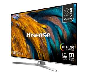 "Hisense H55U7BUK (2019) ULED HDR 4K Ultra HD Smart TV, 55"" with Freeview Play, £539.98 @ Costco instore possibly £50 cashback"