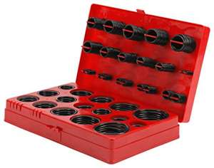 Performance Tool W5202 O-Ring Assortment, 407-Piece now £8.17 (Prime) + £4.49 (non Prime) at Amazon