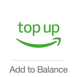 Get an additional £6 added to your Gift Card balance when you top up £80 or more! @ Amazon