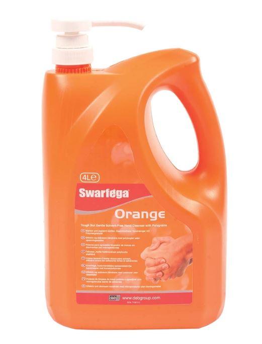 Swarfega Orange Hand Cleanser Pump Bottle - 4L £7 at Homebase (free C&C)
