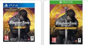 Kingdom Come Deliverance Royal Edition (PS4 / Xbox One) - £19.95 new @ Game Collection