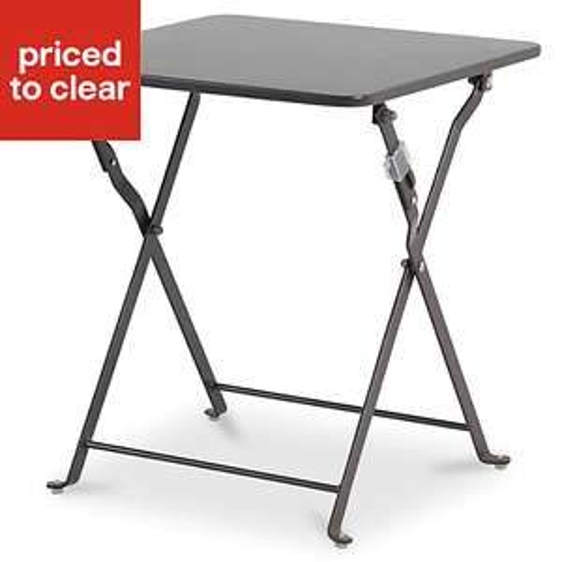 Saba Metal Side Table (£4 Each) or Metal Folding Chair (£6 Each)  @ B&Q (Free C&C)