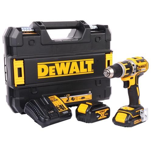 Dewalt DCD795M1S1 XR 18v Li-ion Brushless Combi Drill (1 x 1.5ah & 1 x 4.0ah) £119.99 @ ITS