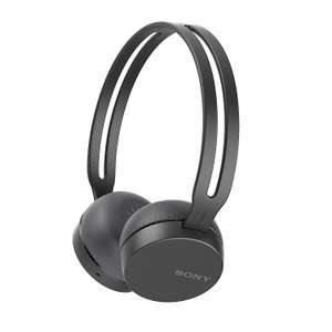 Sony WH-CH400 Wireless Headphones with Bluetooth/NFC - Black @ Amazon - £19.53 Prime / £24.02 non-Prime
