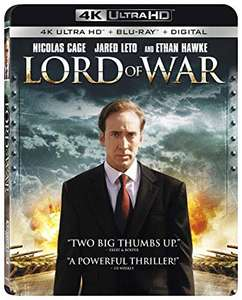 Lord of War 4K UHD / Crank 4K UHD / The Witch 4K UHD @ Amazon UK - £13.68 each Prime (+£4.95 for Non-Prime)