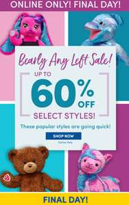 Build a Bear Sale - Up To 60% Off Select Styles - Including Browser, Thanos, Starwars Bears - Ends Midnight 11/08
