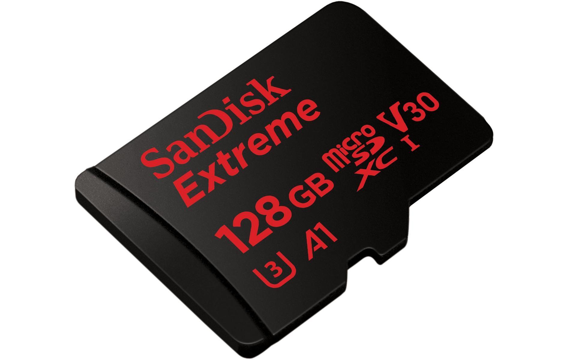 SanDisk Extreme MicroSDXC 128GB V30 (w)- £21.06 @ Halfords (Free C&C)