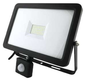 PRO ELEC  50W LED Floodlight with PIR £13.80 Delivered @ CPC