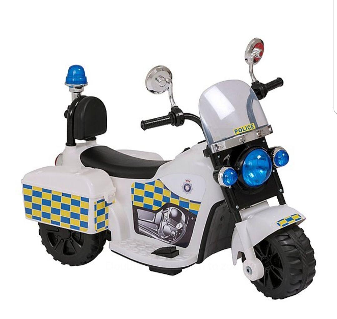 6v Police trike ride on - £35 @ Asda (free C&C)