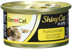 GimCat ShinyCat in Jelly – Cat food with fish in jelly for adult cats  24 cans (24 x 70 g) £2.01 (Prime) / £6.50 (non Prime) at Amazon