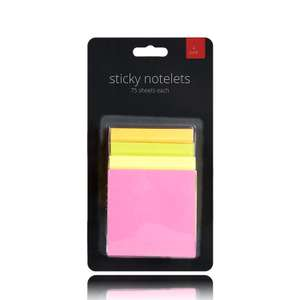 Berri Stationary 8 Pack Sticky Note Pads now £1.69 add-on item at Amazon