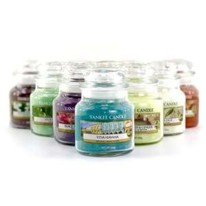 3 Small Yankee Candle Jars £7.60 Delivered w/code / £8 Without @ Yankee Bundles