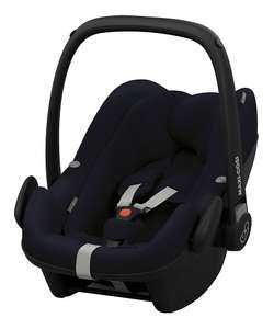 Maxi Cosi Pebble Plus i-size - midnight blue car seat now only £140 at Mothercare