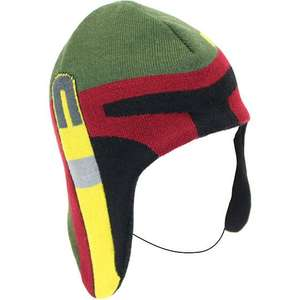 Star Wars Boba Fett Knitted Hat, Cheap at £5.99 (p&p 99p or free if you spend £10) @ Zavvi