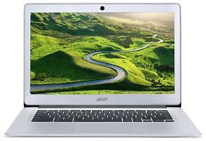 Refurb (1 year warranty) Acer Chromebook 14 Inch Intel Celeron 1.6GHz 2GB 32GB Laptop - Silver, £87.99 at Argos/ebay