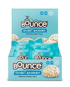 Bounce Coconut and Macadamia Protein Bliss Energy Balls 40 g (Pack of 6) - £7.80 at Amazon Prime / £12.29 Non Prime