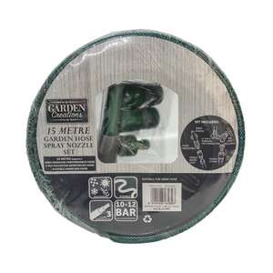 15 Meter Garden Hose with accessories £2.99 at TJ Hughes in store Sheffield