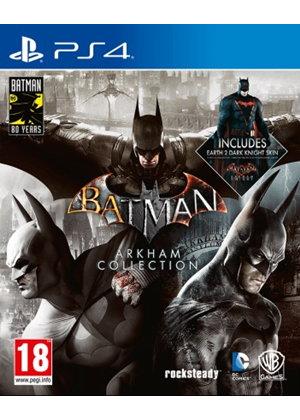 Batman: Arkham Collection Steelbook Edition PS4/Xbox One £30.85 @ Base.com