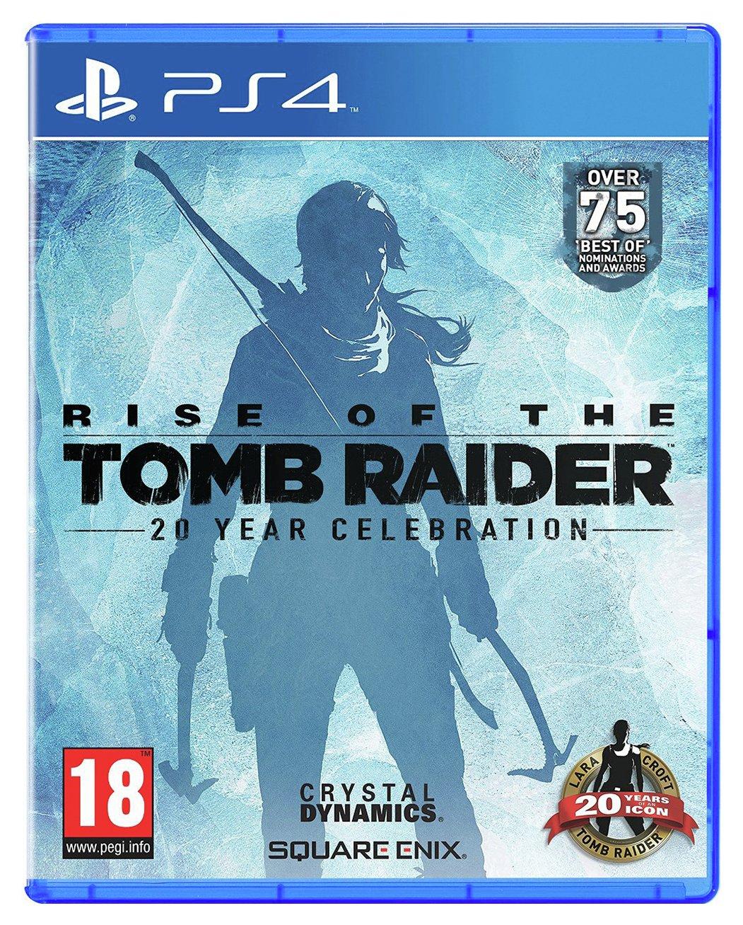 Rise of the Tomb Raider: 20th Anniversary PS4 Game  £11.99  (Prime) / £14.98 (non Prime) at Amazon