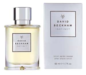 David Beckham INSTINCT Aftershave 50 ml £5 delivered with Prime (or £3.25 with S&S + 30% off voucher) £9.49 Non Prime at Amazon