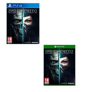 Dishonored 2 PS4/XBOX one for £4.99 @ Sainsburys