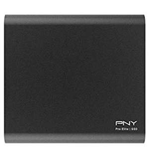 PNY Pro Elite 1TB, Type-C Portable SSD USB 3.1 Gen2 including C to C and C to A Cables for £119.99 Delivered @ Amazon UK