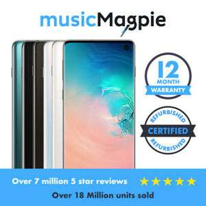 Samsung Galaxy S10+ Plus 128/512/1TB Unlocked / Network Locked Various Colours Seller Refurbished for £485 with code at Music Magpie eBay