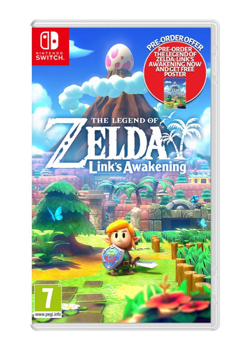 The Legend of Zelda: Link's Awakening + Pre-Order Bonus on Nintendo Switch - £39.85 delivered @ Simply Games