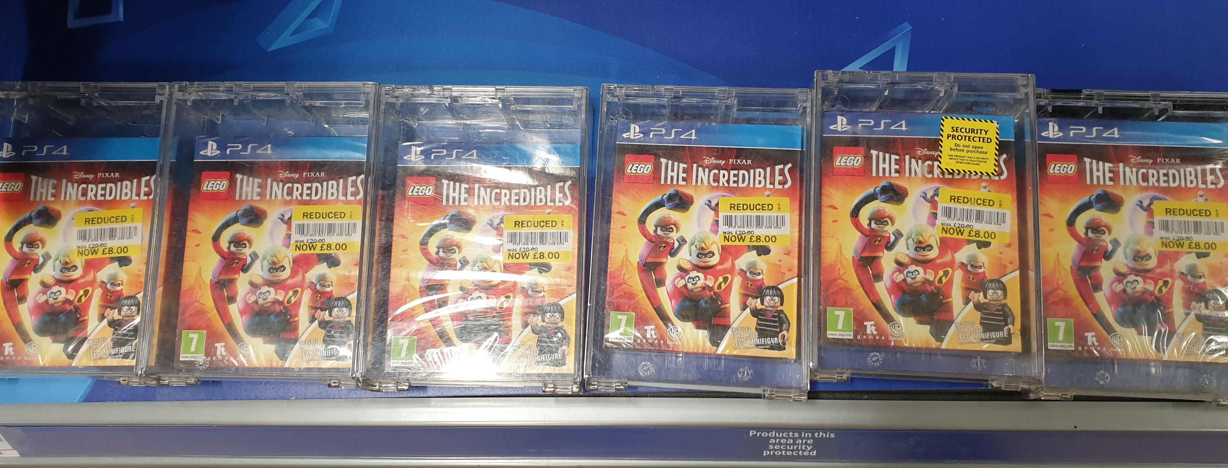 Lego: The Incredibles - PS4 - £8 at Tesco Extra Altrincham